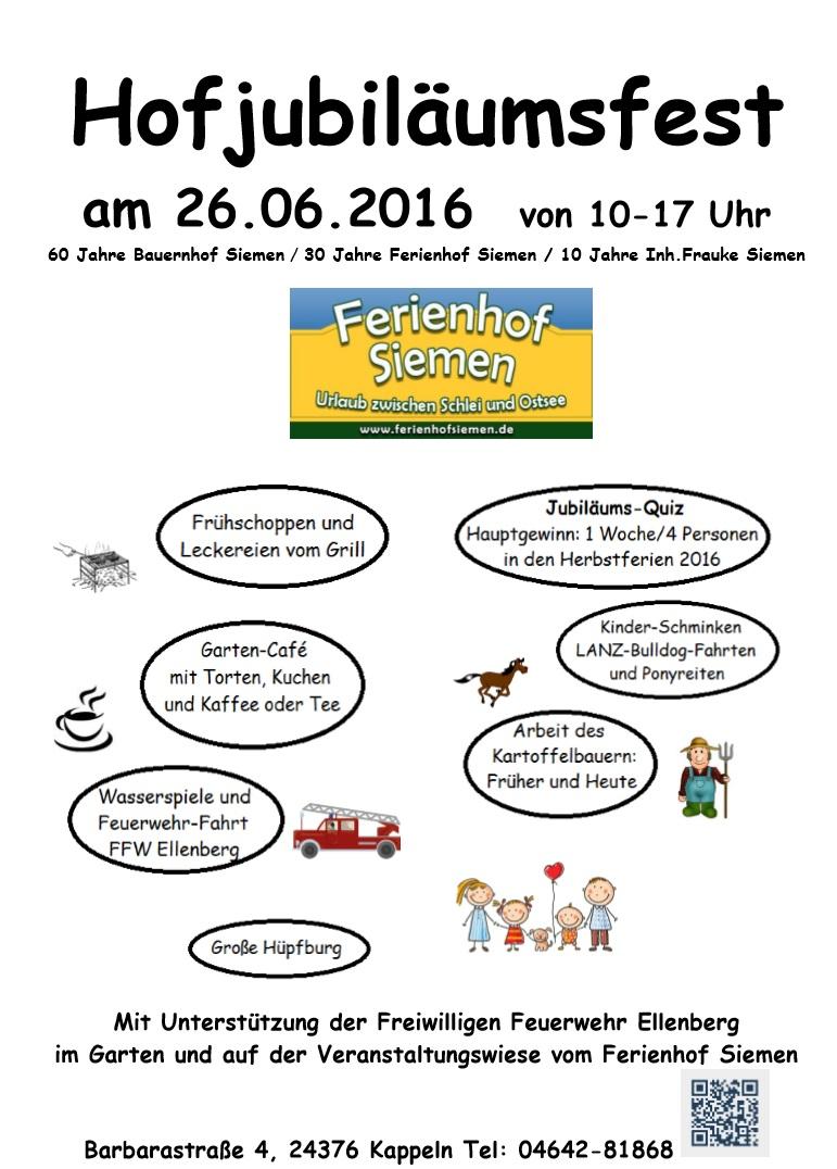 Hofjubiläusfest 26.06.2016